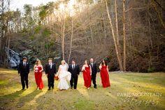 Hightower Falls Wedding | Waterfall Wedding  | GA Outdoor Gristmill Wedding | Paris Mountain Photography Wedding Group Photos, Waterfall Wedding, Mountain Photography, Family Photos, Amanda, Paris, Outdoor, Family Pictures, Outdoors