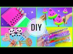DIY könyvjelzők - Kawaii - YouTube