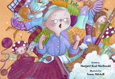 Inspiring and Amazingly Talented Children's Book Illustrators: Susan Mitchell 2