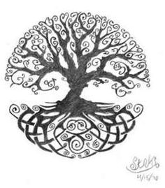 Tree of life tattoo... I want this! Family tree with names added.