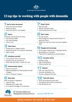 tips for dementia caregivers #dementiacaregivers