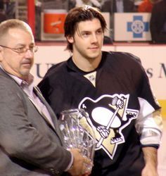 Pittsburgh Penguins Kris Letang  2008 Rookie of the year