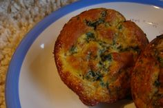Individual Spinach Souffles (Gluten Free, Dairy Free)