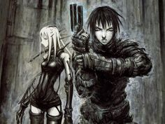 BLAME Wallpaper 2 by the-megastructure Blame! (ブラム!) Manga by Tsutomu Nihei.