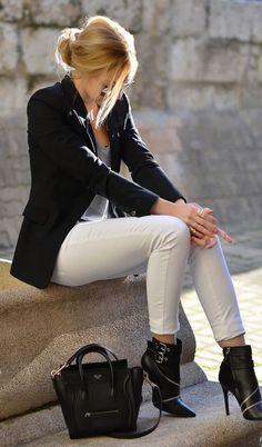 Looks da moda: preto e branco