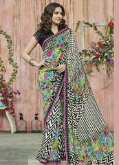 Multi Color Georgette Party Wear Sarees : Sukanya Collection  YF-40471