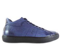 Sneakers Tod's - Sport Hiver en nubuck délavé marine