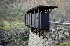 Peter Zimthor_Zinc mine museum, Norway_2002 | http://www.iconeye.com/architecture/news/item/10837-peter-zumthor-zinc-mine-museum-norway