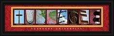 Tuskegee University Officially Licensed Framed Letter Art