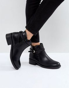 Pieces Buckle Ankle Boots