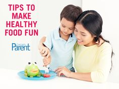 Tips from the experts on how to make healthy food fun for kids #health #healthyliving
