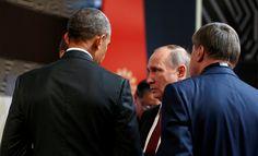 Obama y Putin dialogan cuatro minutos en la cumbre de la APEC
