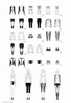 fashion flats Within the last 30 years, the evolution of fashion has Flat Drawings, Flat Sketches, Technical Drawings, Fashion Illustration Sketches, Fashion Sketches, Design Illustrations, Clothing Sketches, Dress Sketches, Evolution Of Fashion