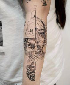 No hay descripción de la foto disponible. Maori Tattoos, Tattoo Bedeutungen, Name Tattoos, Tattoo Style, Tattoo Trend, Bild Tattoos, Love Life Tattoo, Tatoo Art, Collage Tattoo