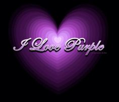 Purple is my absolute favorite color. I have always loved the color purple it is very pretty and it's just I don't know but I love it. Purple Love, All Things Purple, Shades Of Purple, Deep Purple, Purple And Black, Pink Purple, Purple Stuff, Purple Hearts, Purple Swag