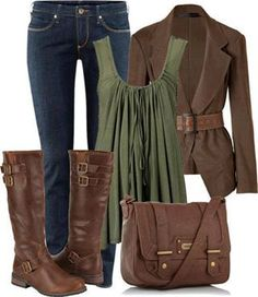 Very cute Fall outfit!