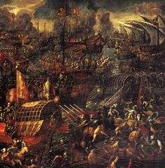 Image Detail for - Battle of Lepanto (detail) by Andrea Vicentino on friends-of-art.net ...