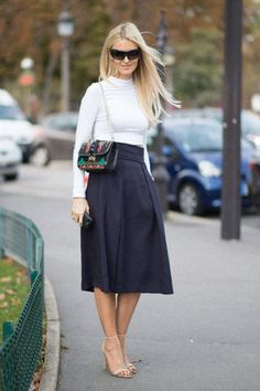 Pin for Later: 8 Fresh Ways to Effortlessly Update Your Style Status Full-Skirt Fabulous