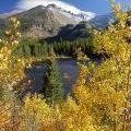 Estes Park, Colorado in the Fall