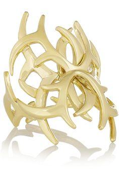 Ana Khouri|Arachnid 18-karat gold ring|NET-A-PORTER.COM