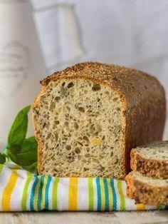 Bon Appetit, Bread Recipes, Banana Bread, Good Food, Food And Drink, Gluten, Meals, Baking, Cake