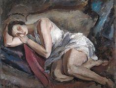 Ginés Parra (Spanish, 1896–1960) Title:Joven dormida