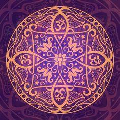 Respiro hondo. La fuerza de la vida me sostiene Vine al Mundo tras un pacto con la Tierra. Este es el pacto Esta semana (que acaba este sábado 23 de mayo 2015) se ha limpiado, fortalecido y reprogramado el Chacra 1, Muladhara. Es la conexión con la Tierra y con la vida. El símbolo muestra el sello del pacto con la Vida y con la Tierra. mandala aum-awakening-mandala, Cristina McAllister, www.fineartamerica.com