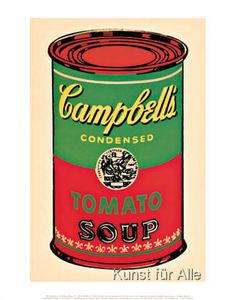 This museum art print is a Pop Art classic printed on fine art paper. Andy Warhol's iconic Campbell's Soup Can is arguably the signature image of his career. Warhol's Campbell's Soup Can reproduces an object of mass consumption in the most literal se Pop Art, Art Andy Warhol, Pittsburgh, Campbell Soup Company, Campbell Soup Art, Campbell's Soup Cans, How To Can Tomatoes, Tomato Soup, Framed Wall Art