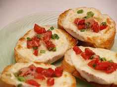Housewife Eclectic: Tasty Tuesdays- Toasted Bruschetta
