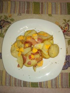 Potatoes wt cheesee and bacon