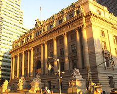 The Alexander Hamilton U.S. Custom House, designed by architect Cass Gilbert, is a building in New York City built 1902–1907 by the federal government to house the duty collection operations for the port of New York.