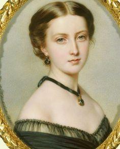 Queen Victoria's daughter - Princess Louise in 1861