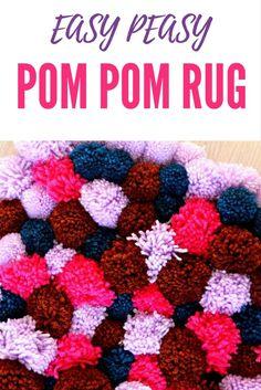 DIY POM POM RUG - Do