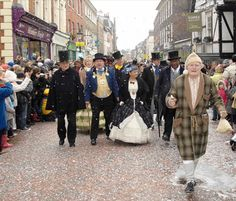 Dickens Characters of Rochester Kent UK