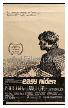 Easy Rider 1969 40x60 Don't stay withour knowing !!! Ne restez pas sans savoir ! Non rimanere senza sapere ! https://www.facebook.com/boutiqueroute66/?view_public_for=1752459178343911