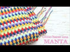 Entrelac a crochet o ganchillo Striped Crochet Blanket, Crochet Jumper, Crochet Towel, Crochet Granny, Crochet Stitches, Crochet Baby, Crochet Patterns, Freeform Crochet, Knitting Videos