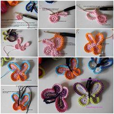 DIY-Lovely-Crochet-Butterflies-3