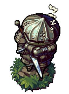 Dark Souls - Onion BroPixel Artist: cyangmou Source: cyangmou.deviantart.com