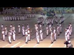 عرض فصيل المهارات العسكرية الدفعة 65 part 1 - YouTube