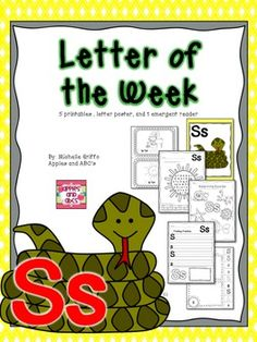 Letter S {Letter of the Week}
