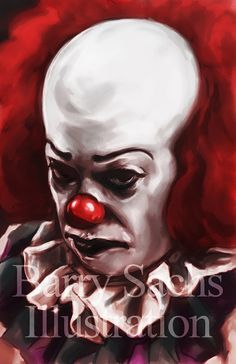 Pennywise the clown / IT Tim Curry 11x17 by BarrySachsBarryGood