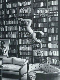 """Novelicious on Twitter: """"A good library will never be too neat, or dusty…"""