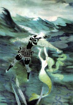 The Little Mermaid - Jiří Trnka