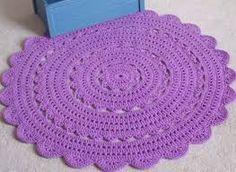 Resultado de imagem para tapetes de croche