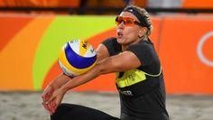 Deutschlands Beachvolleyballerinnen Karla Borger