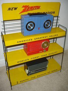 Vintage radios!