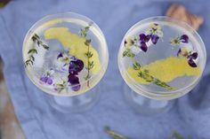 On The Rocks – Edible Flowers! | EyeSwoon