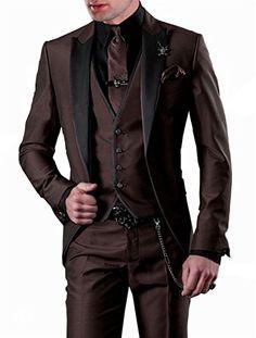 1a5fa653a317 Shoppen Sie GEORGE BRIDE Herren Anzug 5-Teilig Anzug Sakko, Weste, Anzug  Hose