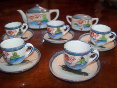 Children's Tea Set Luster Ware Blue Doll TeaSet  Lustre Ware ca 1950s on Etsy, $19.46 AUD