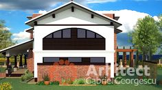 Suprafata desfasurata 192mp + Terasa acoperita 210mp Teren recomandat  ... Case, Mansions, House Styles, Home Decor, Decoration Home, Room Decor, Fancy Houses, Mansion, Manor Houses